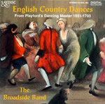 Image of English Country Dances: Playford 1651-1703 CD cover