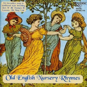 Image of Old English Nursery Rhymes CD cover