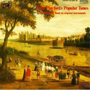 Image of John Playford's Popular Tunes CD cover